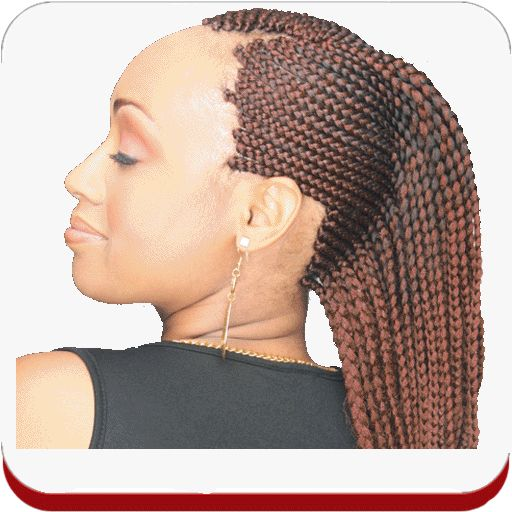 cornrow close black