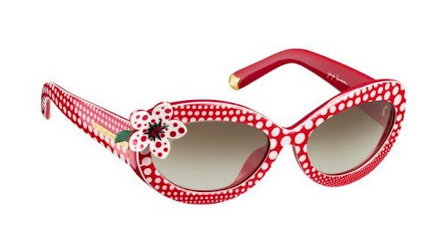be5dc3ca8b8a Yayoi Kusama for Louis Vuitton: All The Accessories. I love these sunglasses,  so cute!