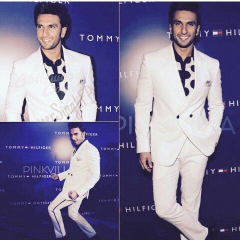 At Tommy Hilfiger party