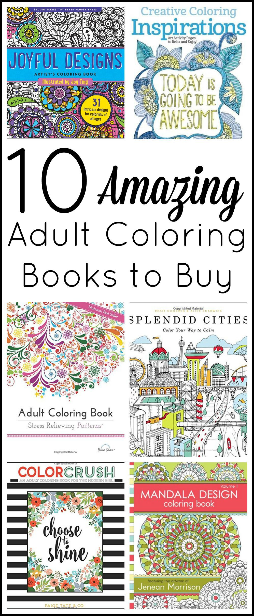 Adult Coloring Books to Buy | Colorear, Mandalas y Colorin