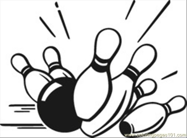 Bowling Pins Coloring Page Bowling Pins Coloring Pages Bowling