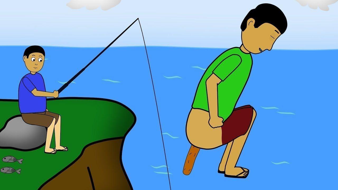 Gagal Mancing Kartun Lucu Video Lucu Kartun KOCAK