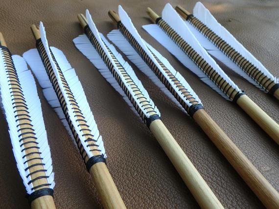 HORN STRIPS for medieval longbow arrow nocks Water Buffalo