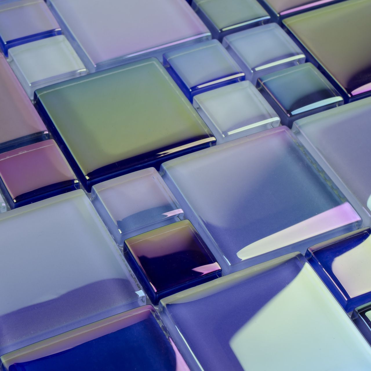 Glass Pool Tile Shimmer Blue Random | Swimming Pool Tiles | Pinterest