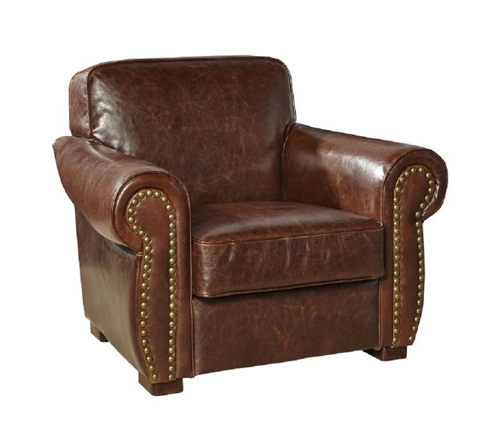Leather Chair With Nailhead Trim Stuhlede Com Leather Chair Upholstered Chairs Leather Club Chairs