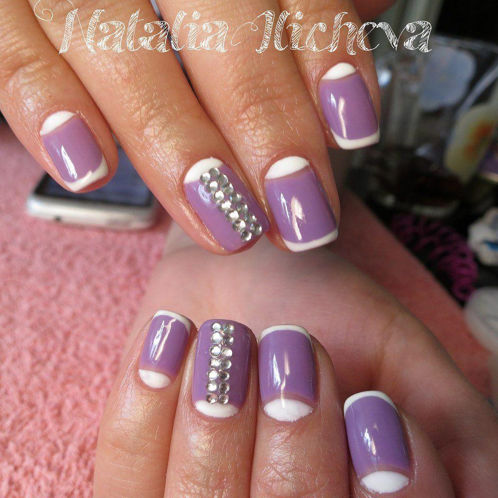 Nail Art #987 - Best Nail Art Designs Gallery | French nails, Moon ...