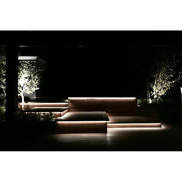 Terrace lighting #lightingdesign #design #garden #gardendesign #architecture…