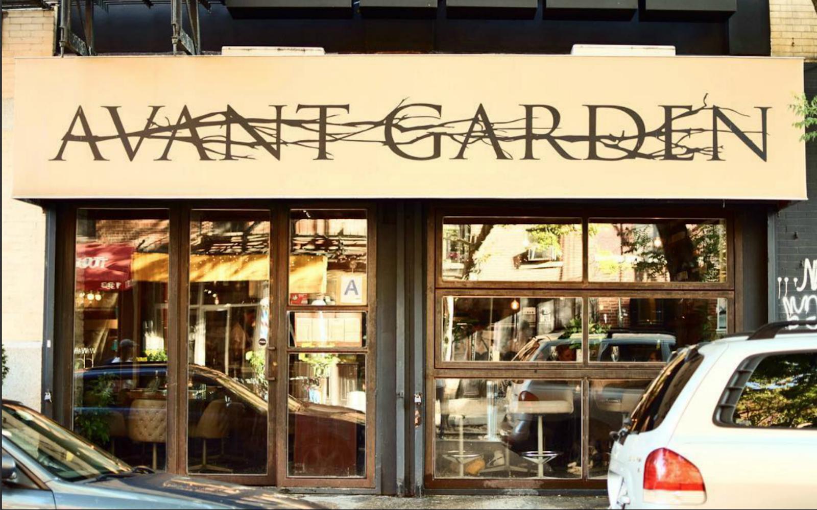 Famed Vegan Restaurant Avant Garden To Open New Location In Brooklyn Vegan Restaurants Avant Garden Nyc East Village Nyc