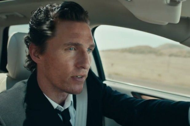 Matthew Mcconaughey Stares Down A Bull In Lincoln Mkc Ad Video