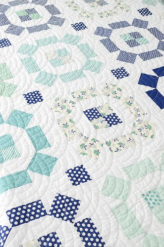 Puddle Jumping quilt by croskelley, via Flickr