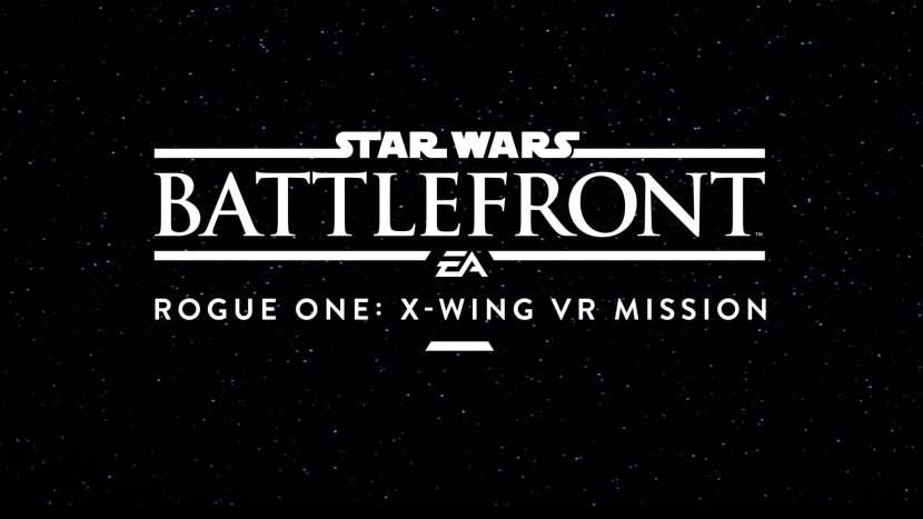Experience VR Space Battles in Star Wars Battlefront's X-Wing Mission  I understand, I understand…  Starwars  isn't horror, but the coming  Starwars Battle Front Xwing VR Mission  expansion has VR space conflicts, which causes it to be cool enough for us. As some one who's read almost every  Starwars  novel and comicbook that's actually been released, I understand my Xwings from my TIE fighters, therefore I can't wait to encounter a real dogfight between the 2 in VR.    Outline:   E ..