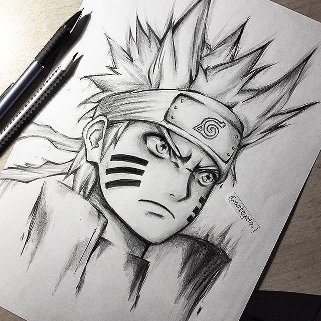 Image Result For Arteyata Com Imagens Arte Naruto Desenho A