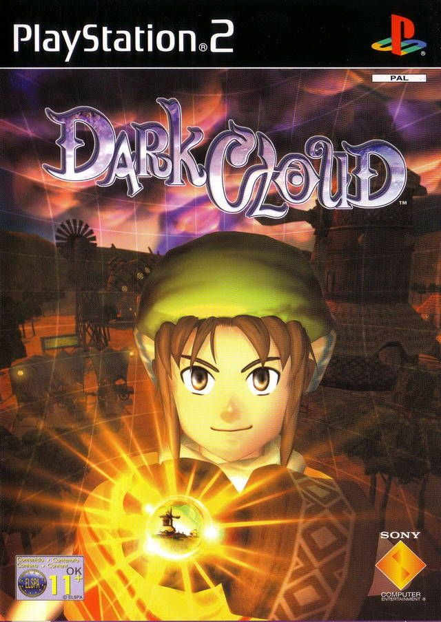 Dark Cloud Box Shot For Playstation 2 Gamefaqs Dark Clouds