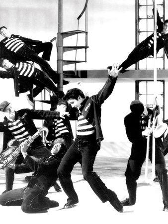 El rock de la cárcel, Elvis Presley, 1957 | Pinterest | Baile y ...