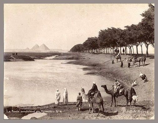 Of The Most Beautiful Pictures Taken Of The Area Ahram Street Pyramid And The Image In The Late Nineteenth Century Egypt Modern Egypt Old Egypt