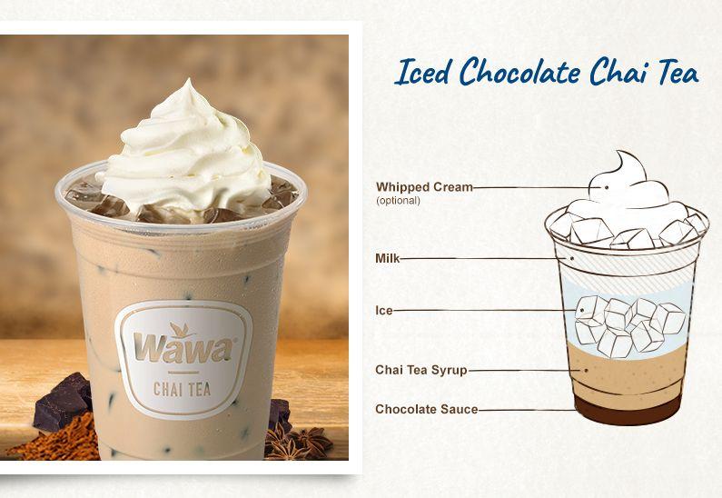 Lattes Macchiatos Hot Chocolates Cappuccinos Chai Teas Wawa Vanilla Chai Tea Ice Coffee Recipe Chai Tea Recipe