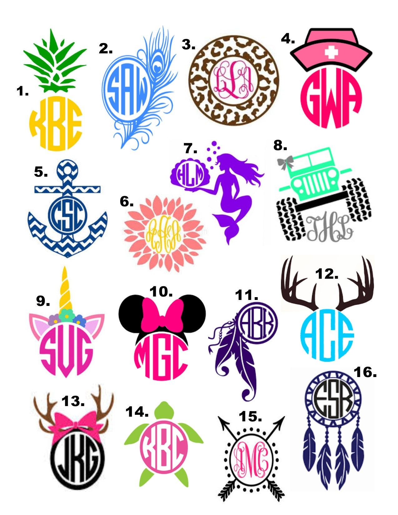 Monogram decal yeti cup decal vinyl decal yeti cup glitter