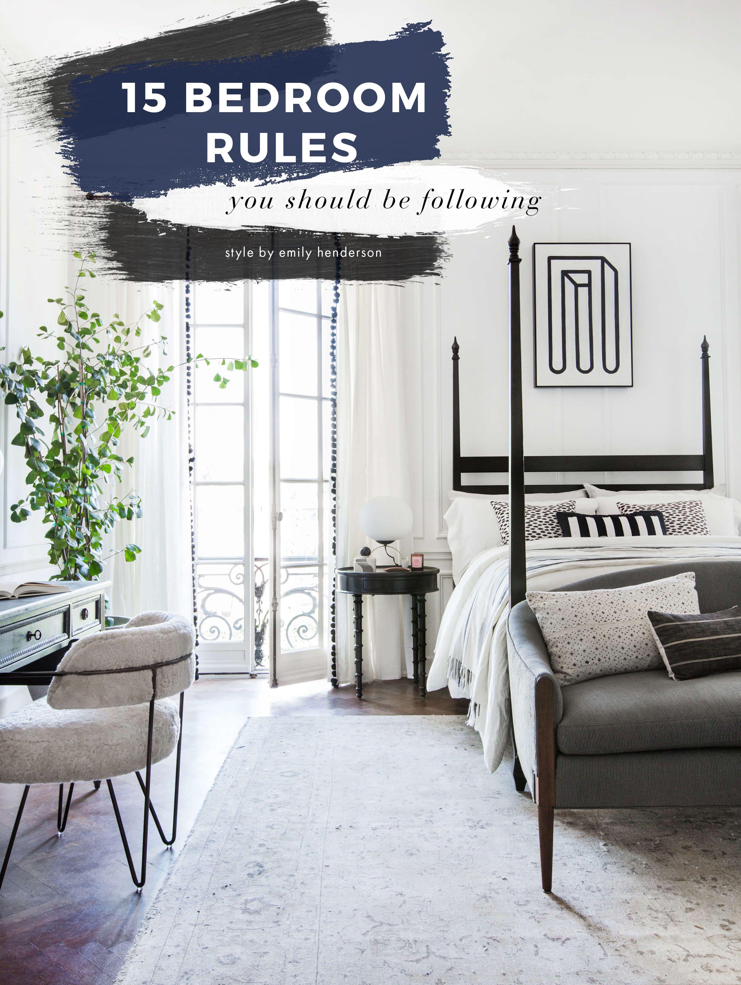 Bedroom Design Rules Stylish Bedroom Bedroom Decorating Tips Modern Bedroom Decor