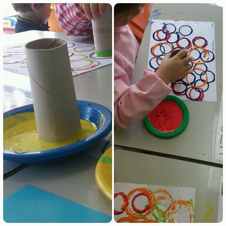 Trabajamos El Círculo Con Los Niños De 3 Años De Forma Intuitiva Utizando Distintas Técnic Actividades Para Niños Pequeños Manualidades Actividades Para Niños
