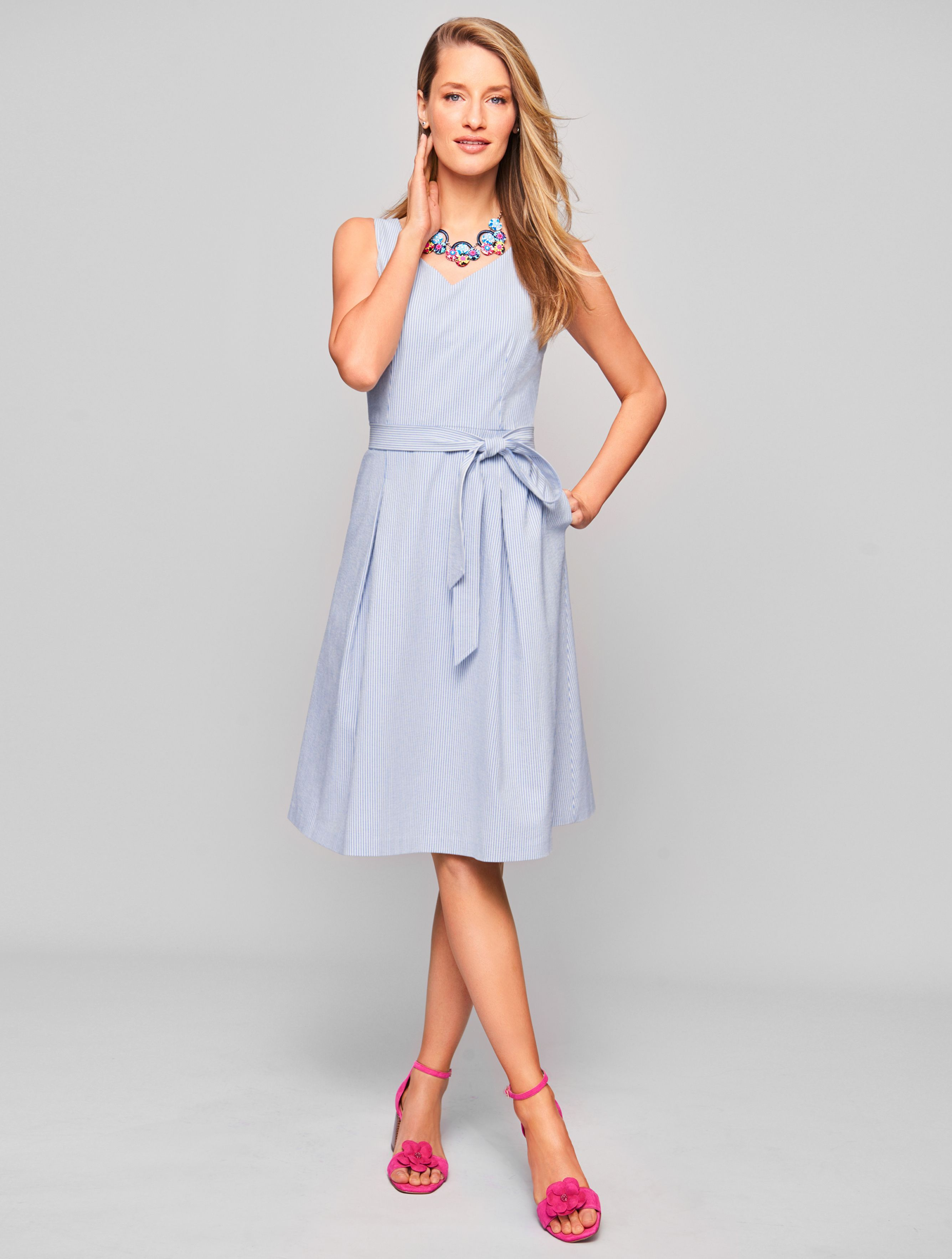 3cae9f63786 Pair with pumps and the coordinating blazer for work. Wear with sandals and  a dress shrug while dining al fresco.