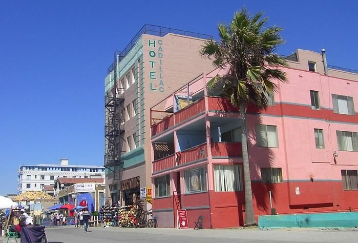 The Cadillac Hotel On Venice Beach All Things I Adore Pinterest Beaches And