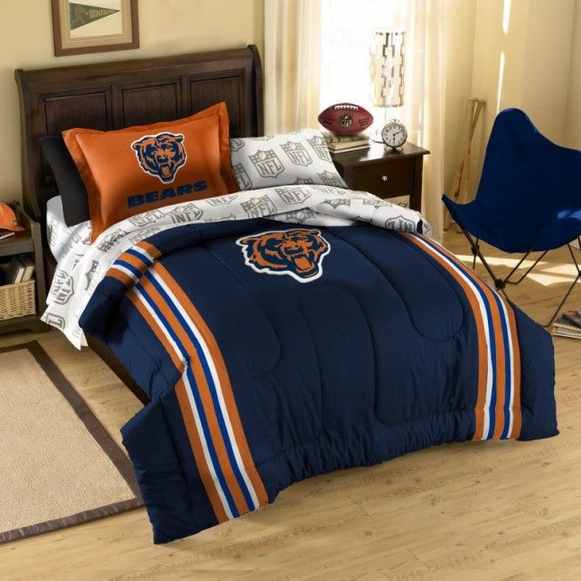 Nfl Chicago Bears Football Bedding Sets From Bedding Com