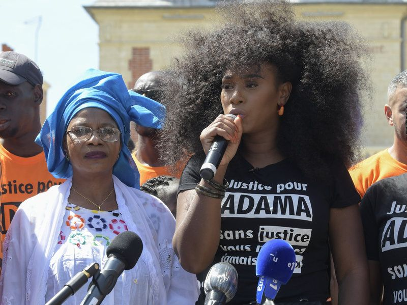In France A Sister S Fight For Justice And Black Lives Gains Momentum In 2020 Black Lives Fight For Justice Civil Rights Lawyer