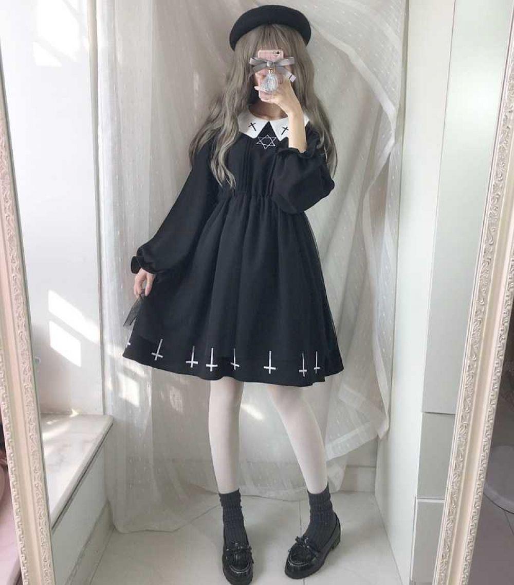Harajuku Gothic Style Cosplay Dress | Harajuku Culture