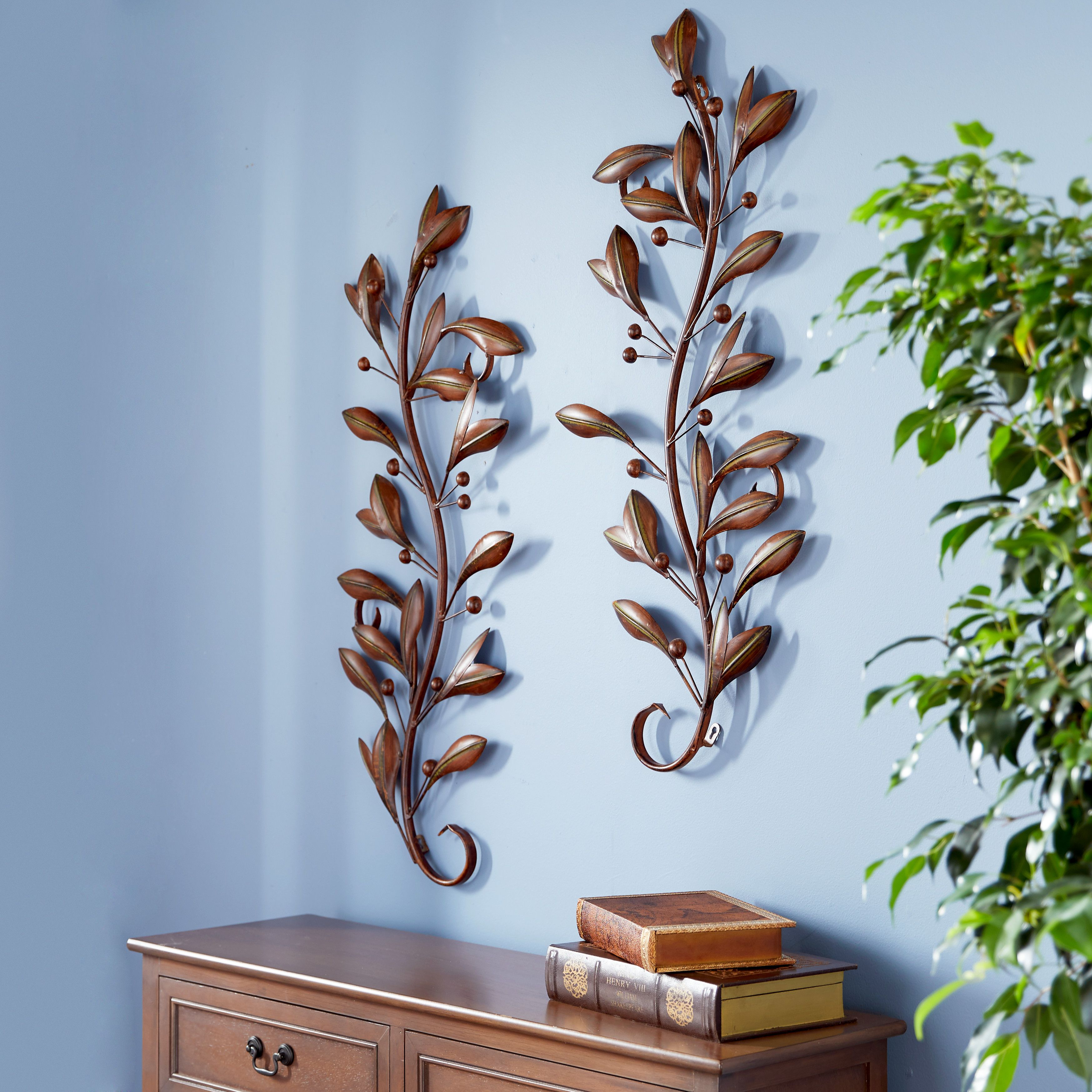 Home In 2020 Wall Decor Vine Wall Metal Wall Decor