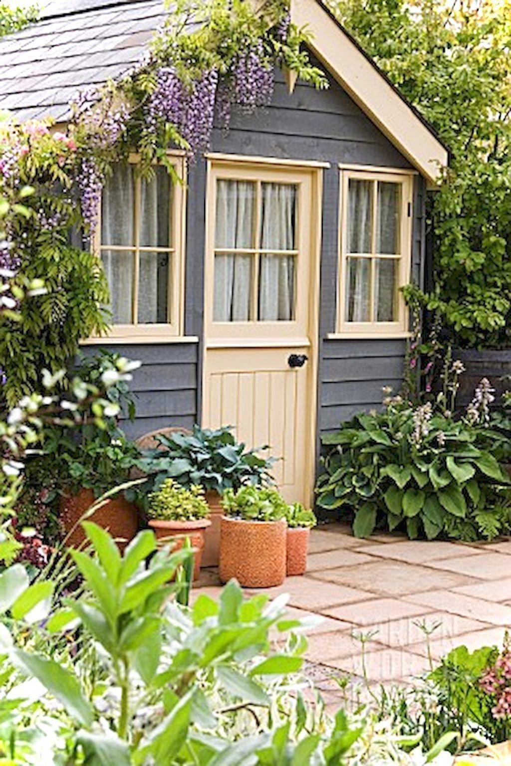 Shed DIY   Inspiring Garden Shed Ideas You Can Afford 56 #gardenshedideas  Now You Can