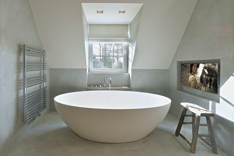 Badkamer Met Dakraam : Landelijk strak badkamer theartofliving eu