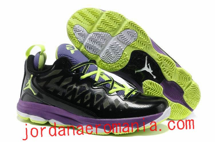 arrive 7905a 78ab8 Acheter Chaussures Air Jordan CP3.VI Noir Purple Volt ...