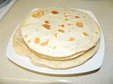 How To Make Soft Flour Tortillas Como Hacer Tortillas A Mano