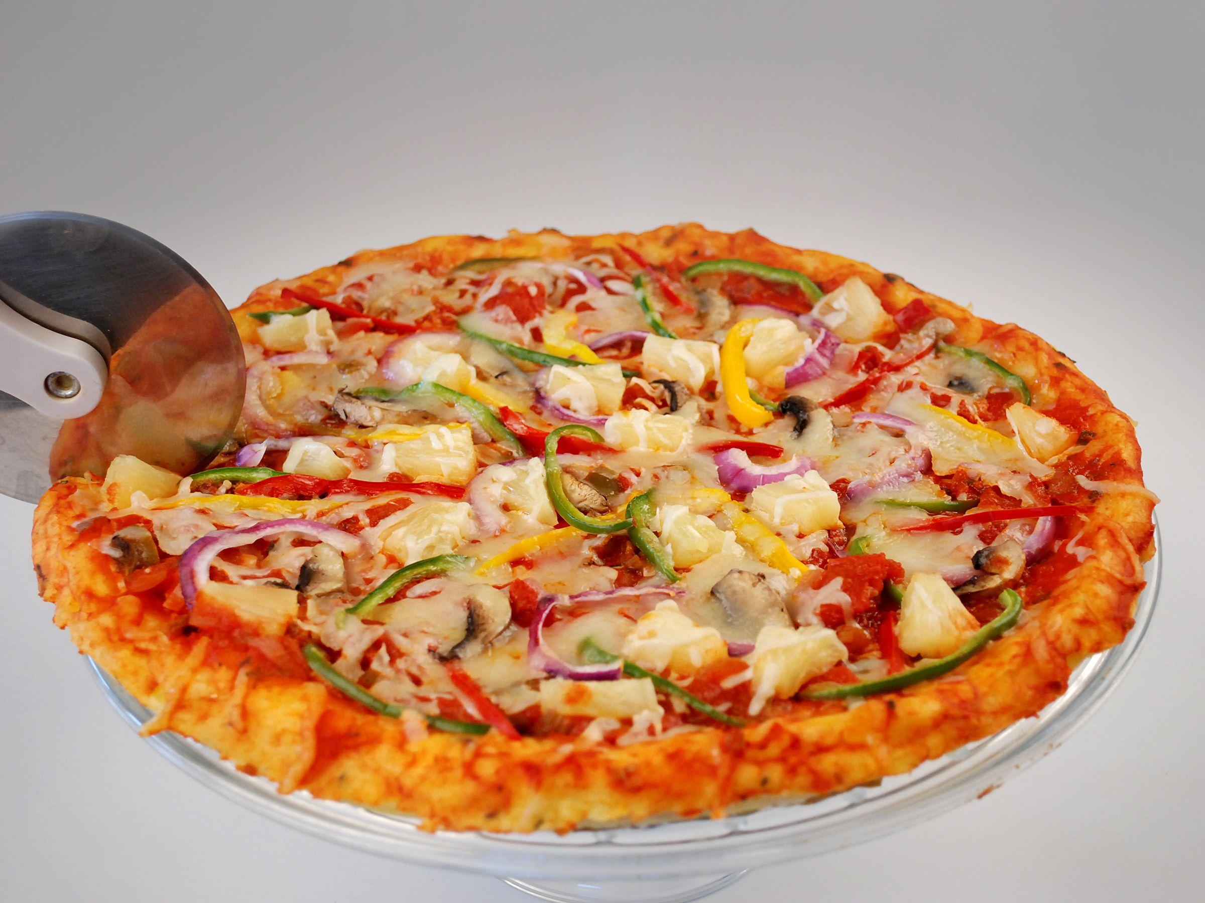 Cassava Crust Pizza   Bajan Diet Designs