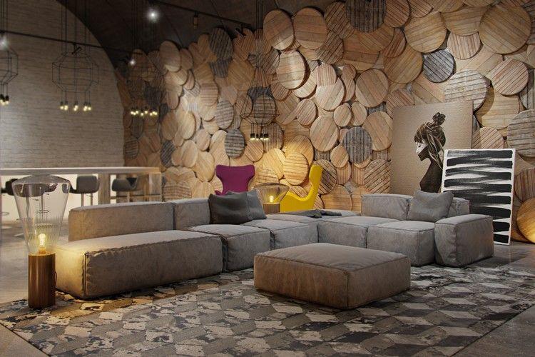 Welche Farbe Passt Zu Braun Tipps Farbkombination Grau #brown #interior