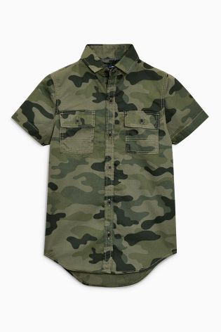 d9ed4e60afea Camouflage Short Sleeve Shirt (3-16yrs)