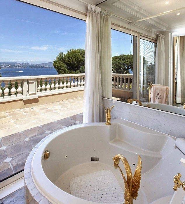 Celebrity Homes: Dodi Al Fayed & Lady Diana /Saint Tropez/