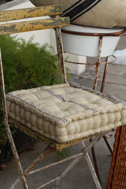 I Want These For The Patio French Mattress Seat Cushions