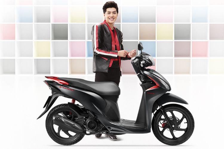Xe May Honda Vision 2019 Phien Bản đặc Biệt Smart Key đen Xam Tặng Non Bảo Hiểm Bảo Hiểm Trong 2020 Honda Xe May Honda Xe May