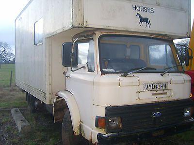 872cb899ad eBay  1981 ford d series d607 horse box classic lorry truck