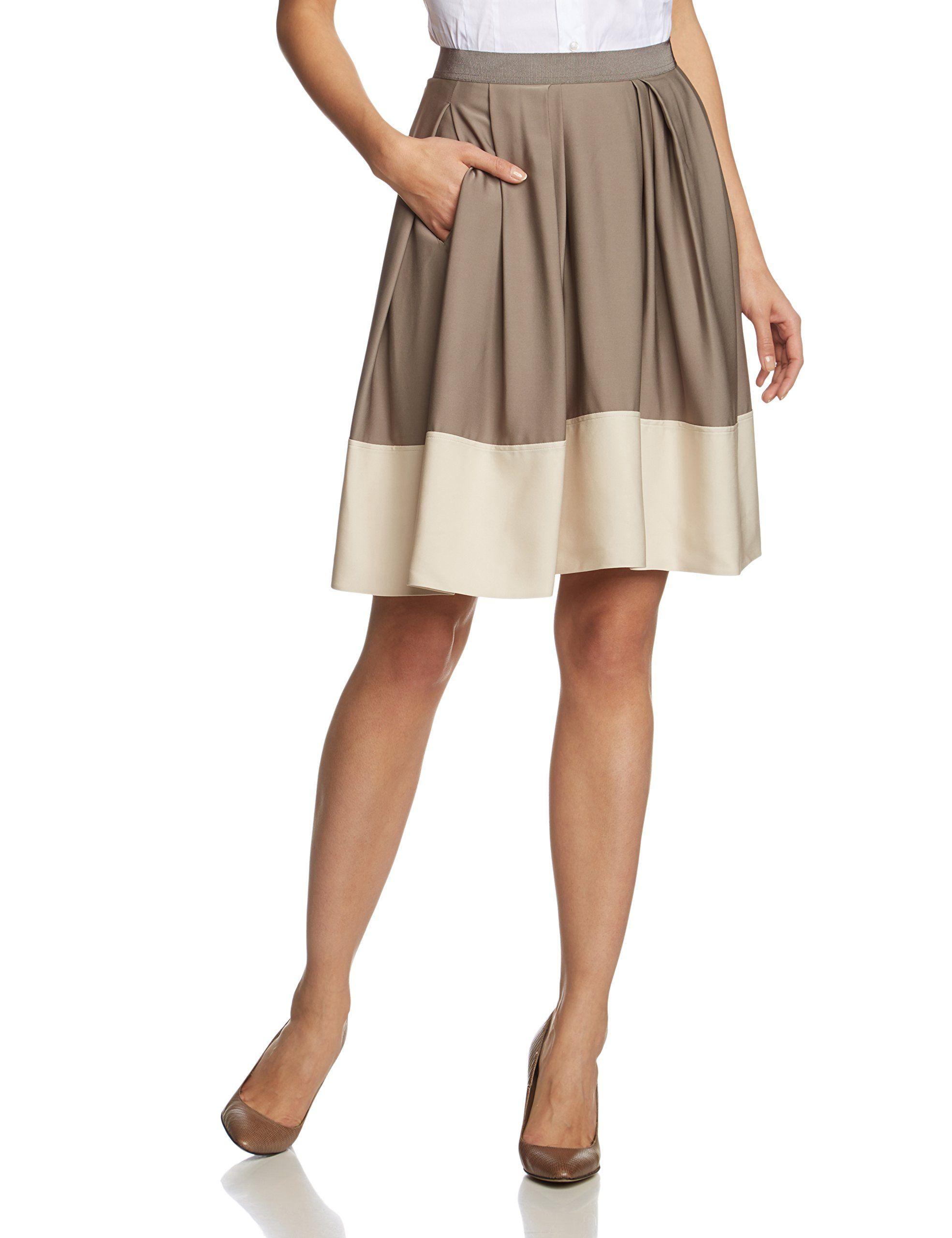 strenesse damen rock skirt skuba knielang gr 36 mehrfarbig 922 922 fashion folder. Black Bedroom Furniture Sets. Home Design Ideas