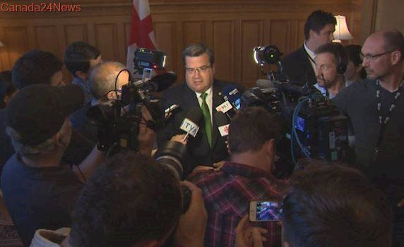 Mayor Denis Coderre on the defence; calls Formula E an investment