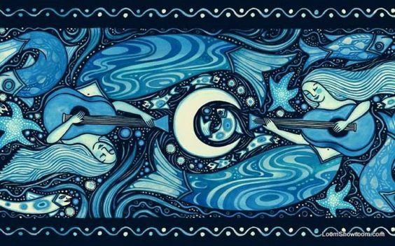mermaid fabrics   ... Sea Octopus Fish Starfish Plants Underwater ... : mermaid quilt fabric - Adamdwight.com