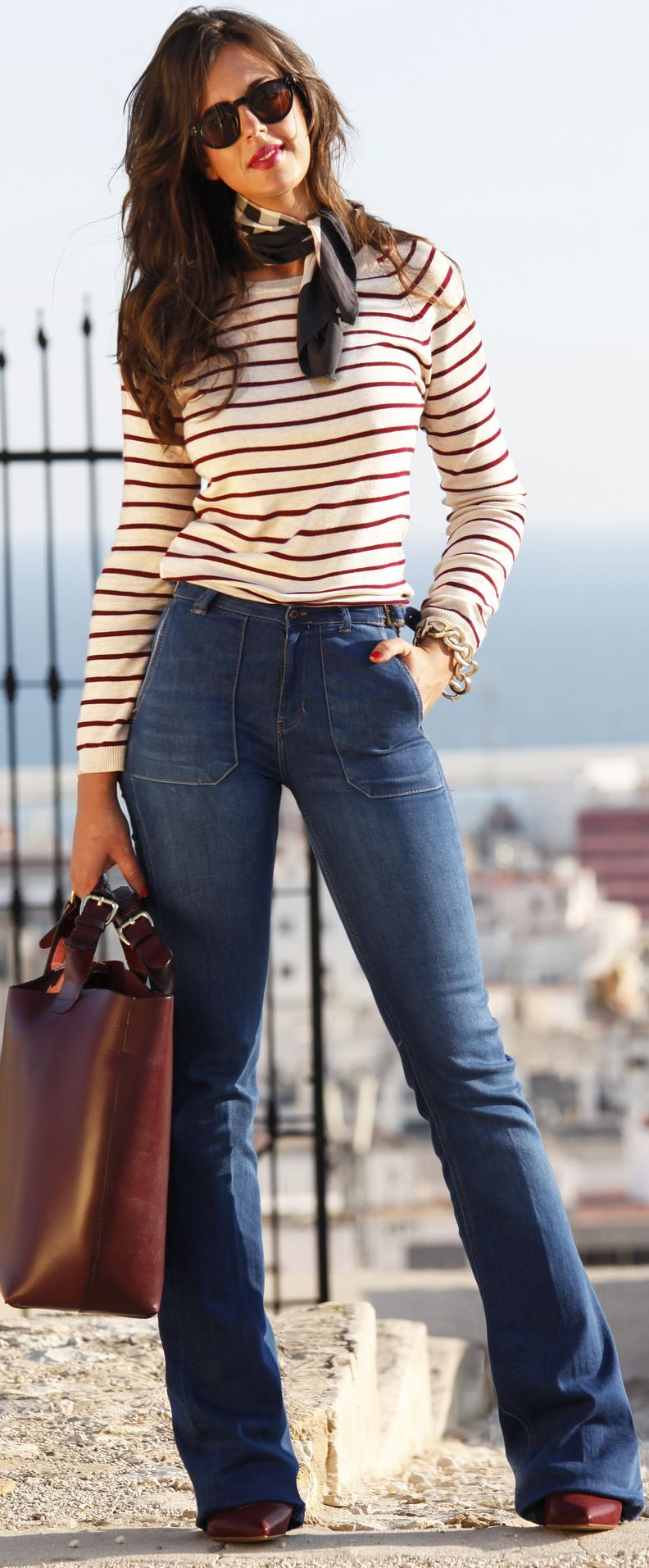 Another s influenced outfit you have these pieces a striped top