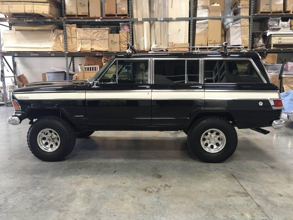 1973 Oxnard Ca Jeep Wagoneer Jeep Old Jeep