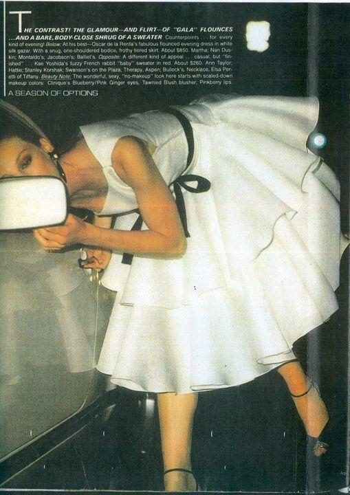 vintage oscar de la renta | Vintage Oscar de la Renta. Divine.
