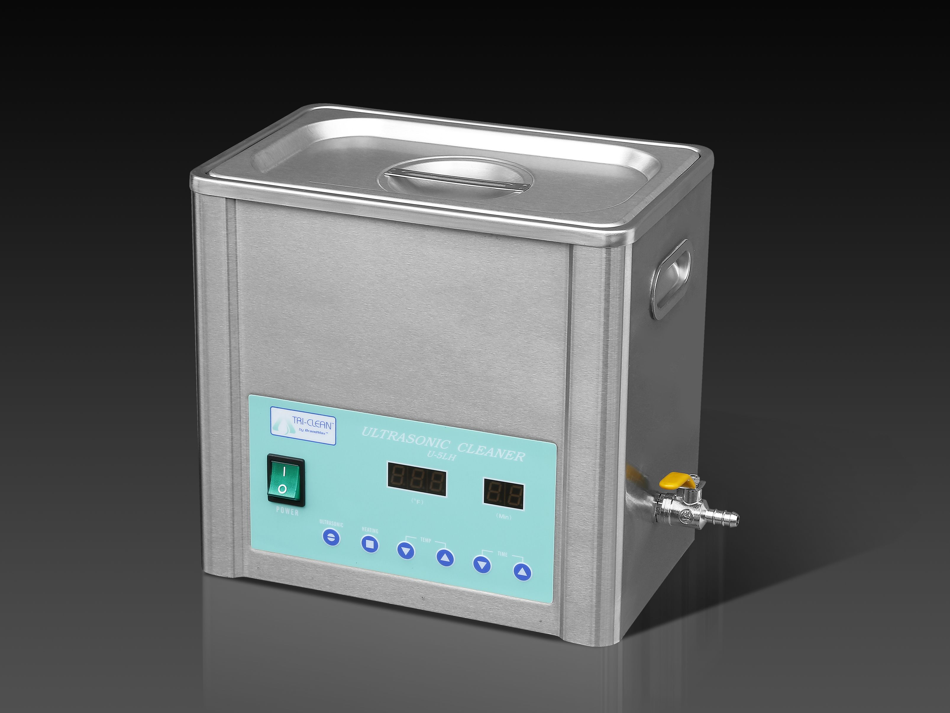 Brandmax Tri Clean U 5lh Ultrasonic Cleaner Free Basket And Products Generators Generator Circuit Heat Always Included Best Unit