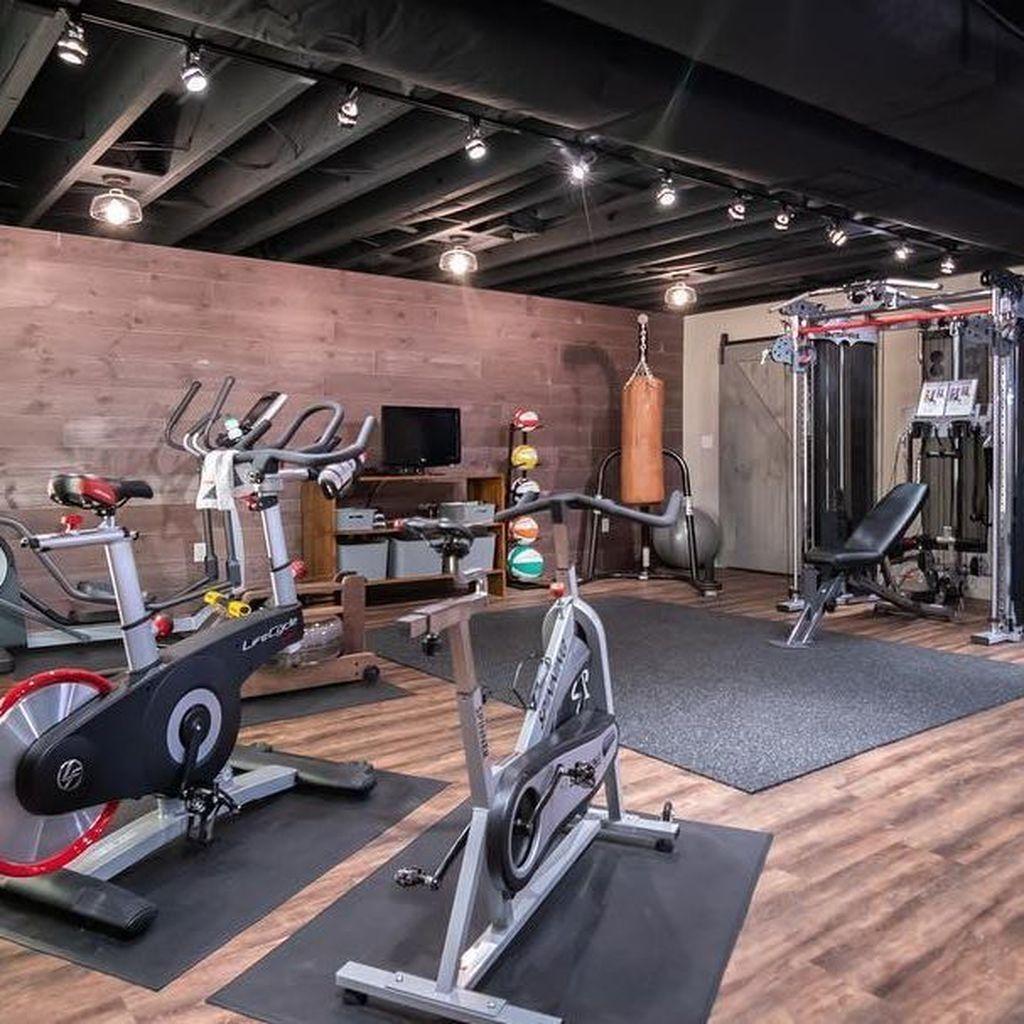 Home Gym Design Ideas Basement: 44 Amazing Home Gym Room Design Ideas