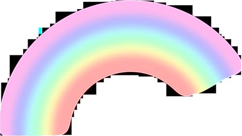 Yebbi Gongju Rainbow Png Easter Bunny Pictures Rainbow