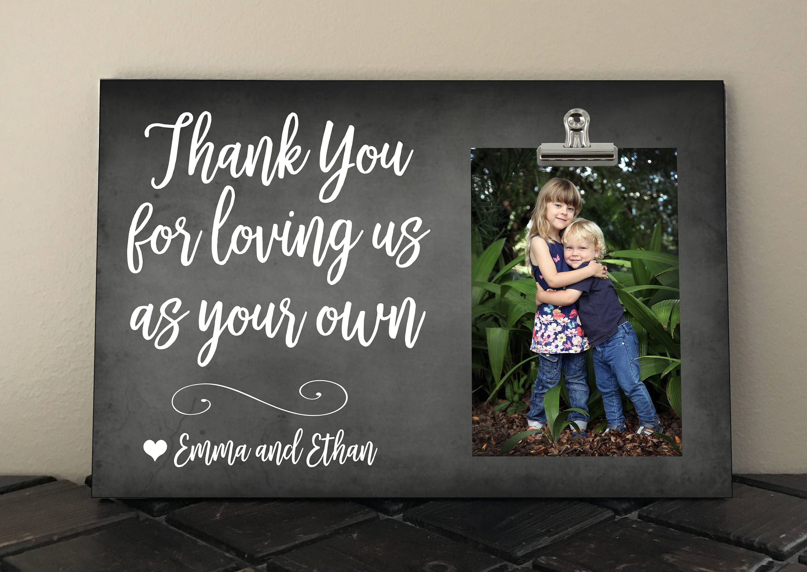 Thank You For Loving Us As Your Own Personalized Free